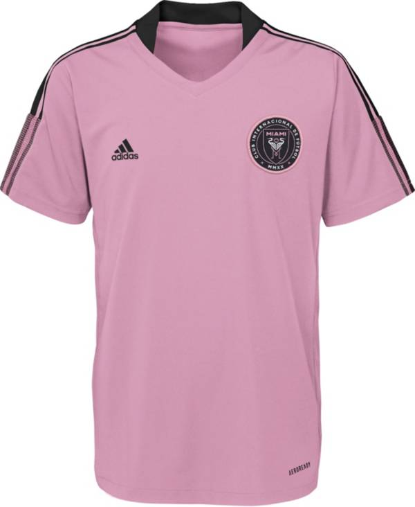 MLS Youth Inter Miami CF Grey Training Jersey product image