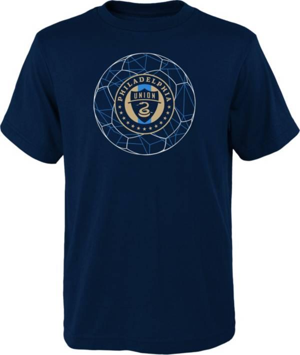 MLS Youth Philadelphia Union Quartz Navy T-Shirt product image