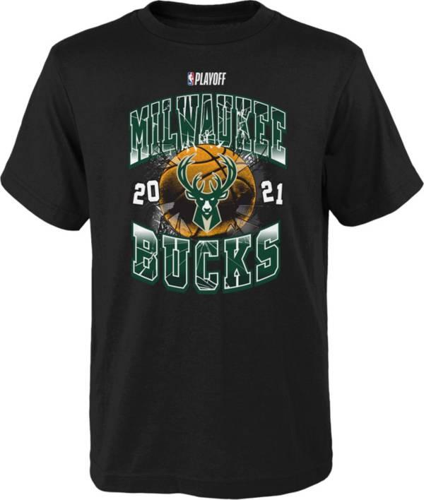 Nike Youth Milwaukee Bucks 2021 Playoffs Hype T-Shirt product image