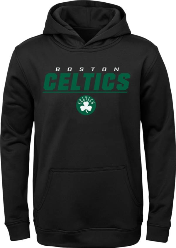 Outerstuff Youth Boston Celtics Black Static Pullover Hoodie product image