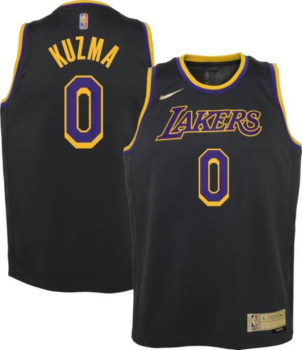 Nike Youth Los Angeles Lakers 2021 Earned Edition Kyle Kuzma Dri-FIT Swingman Jersey product image