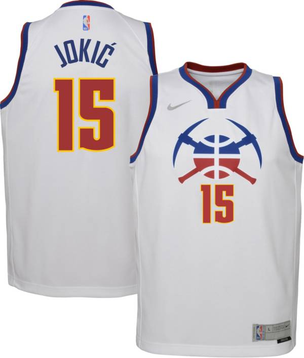 Nike Youth Denver Nuggets 2021 Earned Edition Nikola Jokic  Dri-FIT Swingman Jersey product image