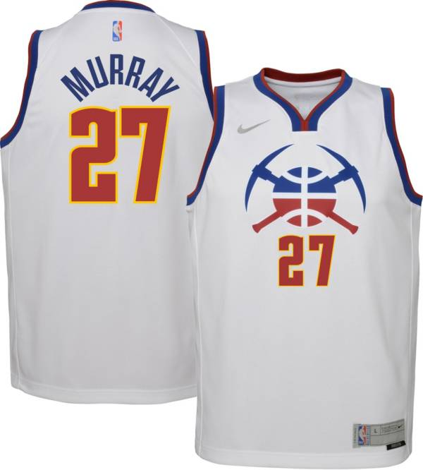 Nike Youth Denver Nuggets 2021 Earned Edition Jamal Murray Dri-FIT Swingman Jersey product image