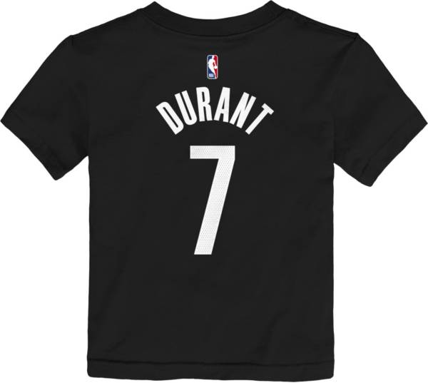 Nike Youth Brooklyn Nets Kevin Durant Icon Number T-Shirt product image