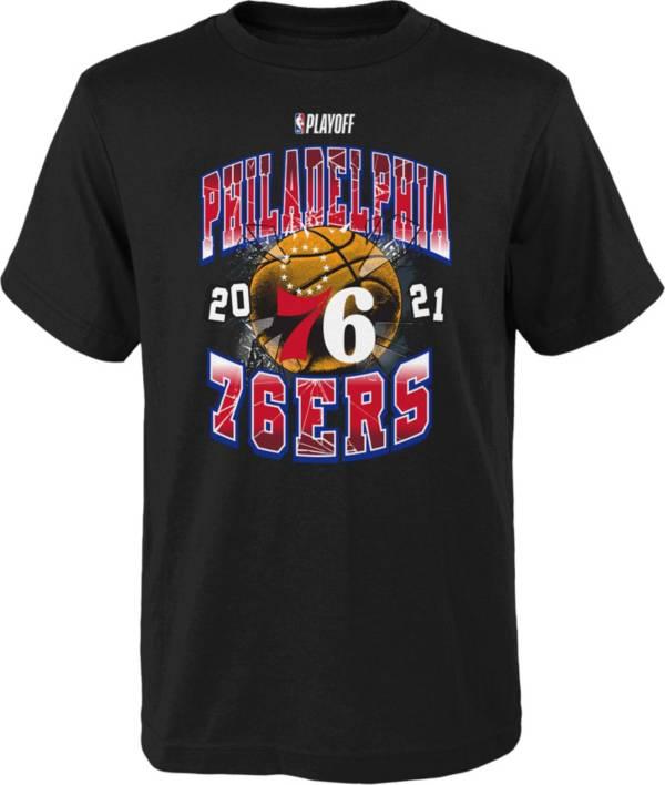 Nike Youth Philadelphia 76ers 2021 Playoffs Hype T-Shirt product image