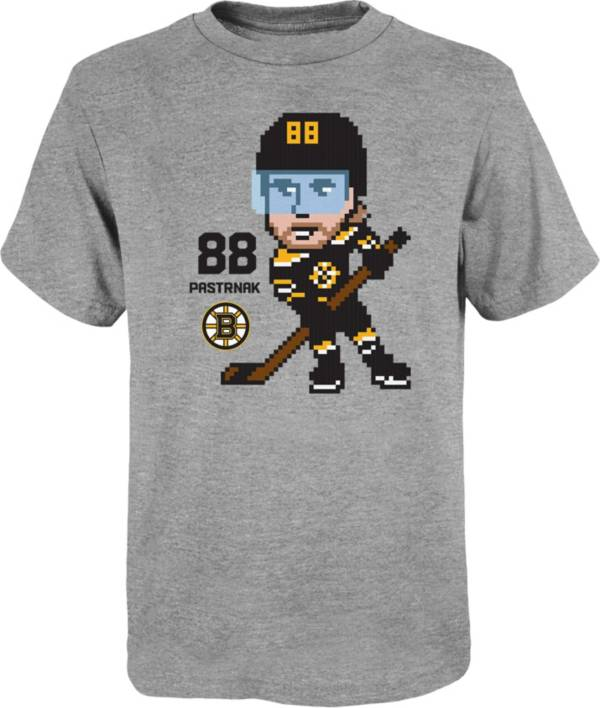 NHL Youth Boston Bruins David Pastrnak #88 Pixel Grey T-Shirt product image