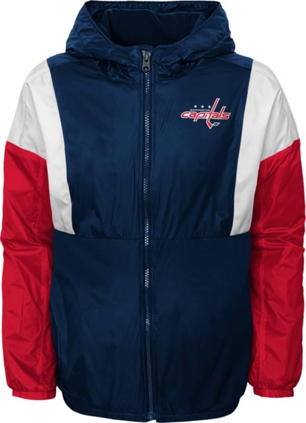 NHL Youth Washington Capitals Stadium Red Windbreaker Jacket product image
