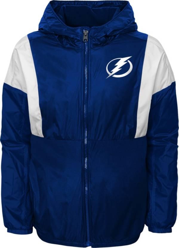 NHL Youth Tampa Bay Lightning Stadium Navy Windbreaker Jacket product image