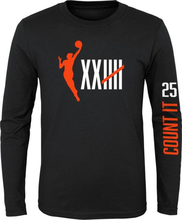 """Nike Youth Women's Basketball """"Count It"""" Long Sleeve T-Shirt product image"""