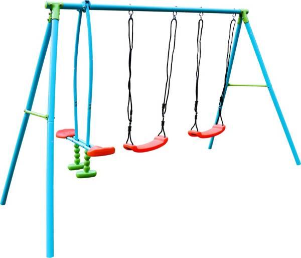 Pure Fun 4-Station Metal Swing Set product image