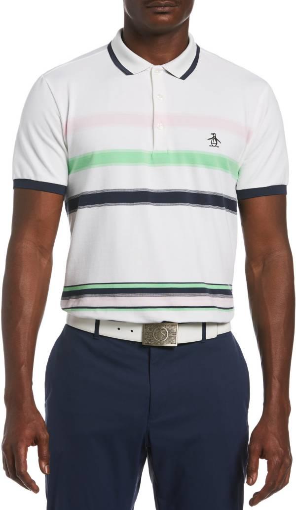 Original Penguin Men's Engineered Stripe Short Sleeve Golf Polo product image