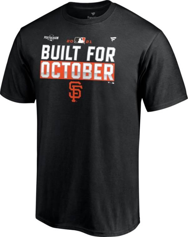 MLB Men's San Francisco Giants 2021 Postseason Locker Room 'Built for October' T-Shirt product image