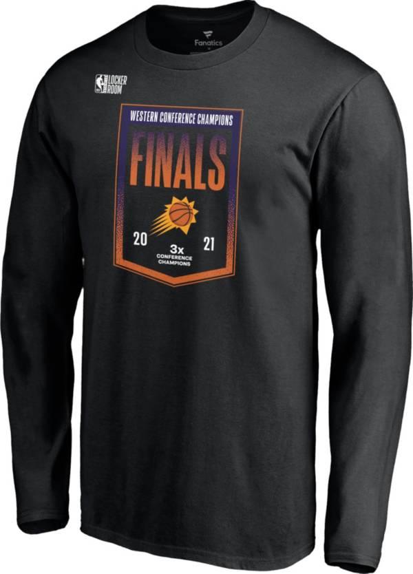 NBA Men's 2021 Western Conference Champions Phoenix Suns Locker Room Long Sleeve T-Shirt product image