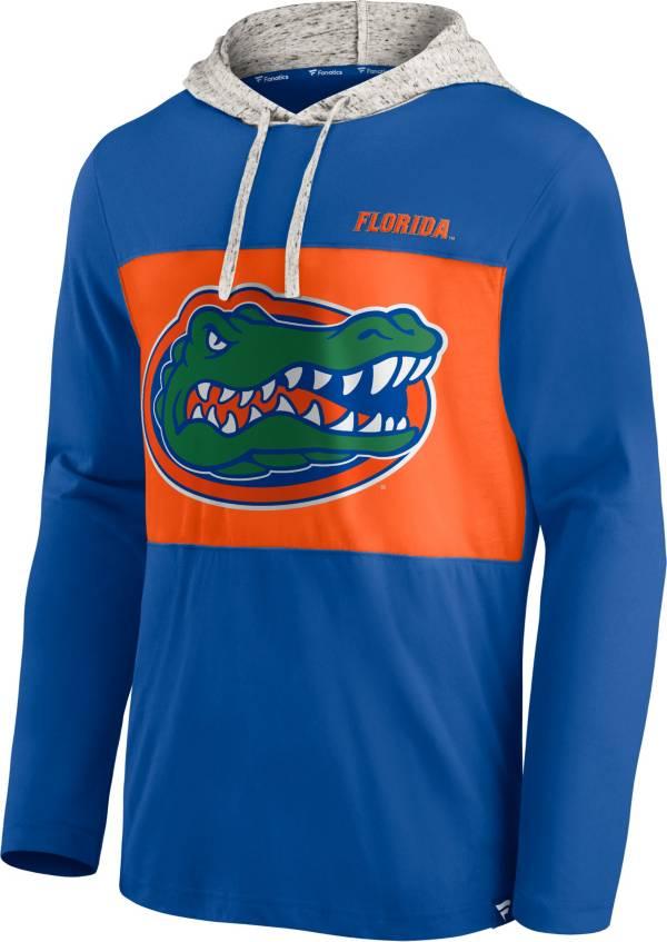 NCAA Men's Florida Gators Blue Long Sleeve Hooded T-Shirt product image