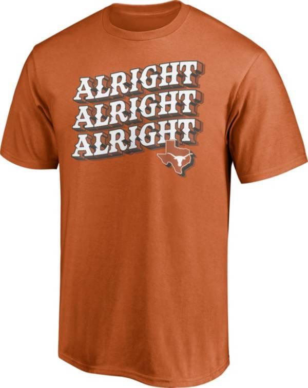 NCAA Men's Texas Longhorns Burnt Orange T-Shirt product image