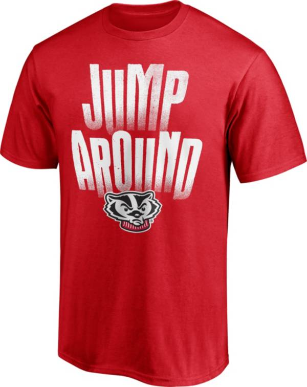 NCAA Men's Wisconsin Badgers Red T-Shirt product image