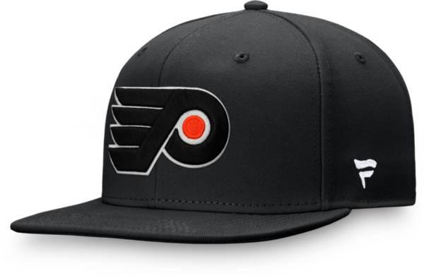 NHL Men's Philadelphia Flyers Special Edition Logo Black Snapback Hat product image