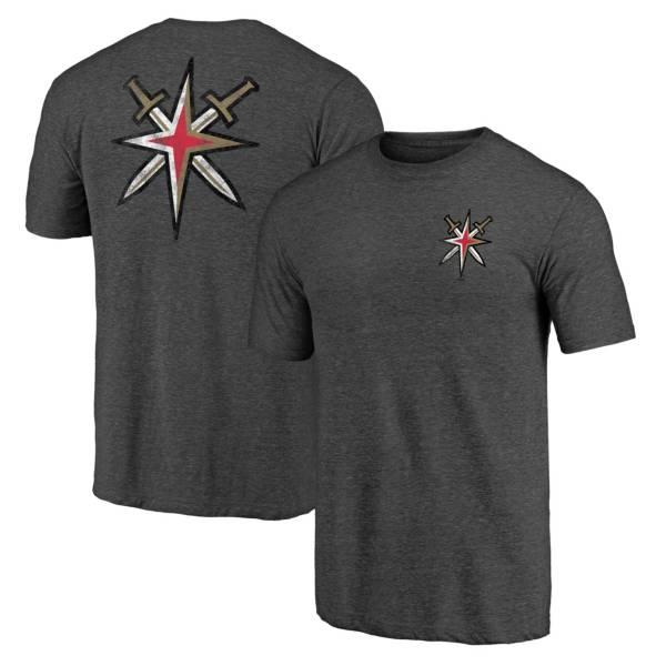 NHL Men's Vegas Golden Knights Shoulder Patch Black T-Shirt product image