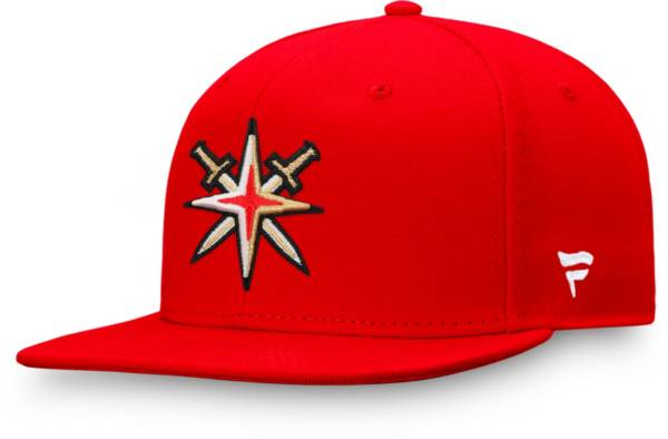 NHL Men's Vegas Golden Knights Special Edition Logo Red Snapback Hat product image