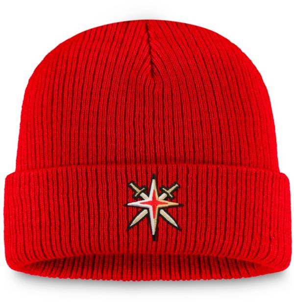 NHL Men's Vegas Golden Knights Special Edition Logo Red Knit Beanie product image