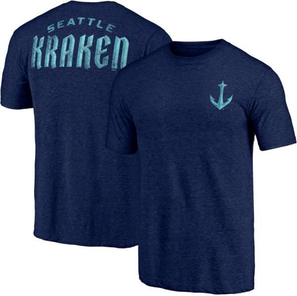 NHL Seattle Kraken Shoulder Patch Navy T-Shirt product image