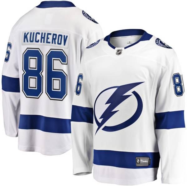 NHL Men's Tampa Bay Lightning Nikita Kucherov #86 Breakaway Away Replica Jersey product image