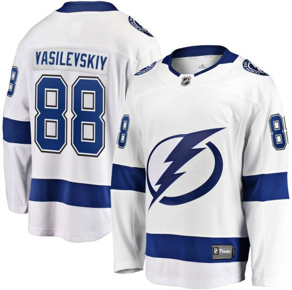 NHL Men's Tampa Bay Lightning Andrew Vasilevskiy #88 Breakaway Away Replica Jersey product image