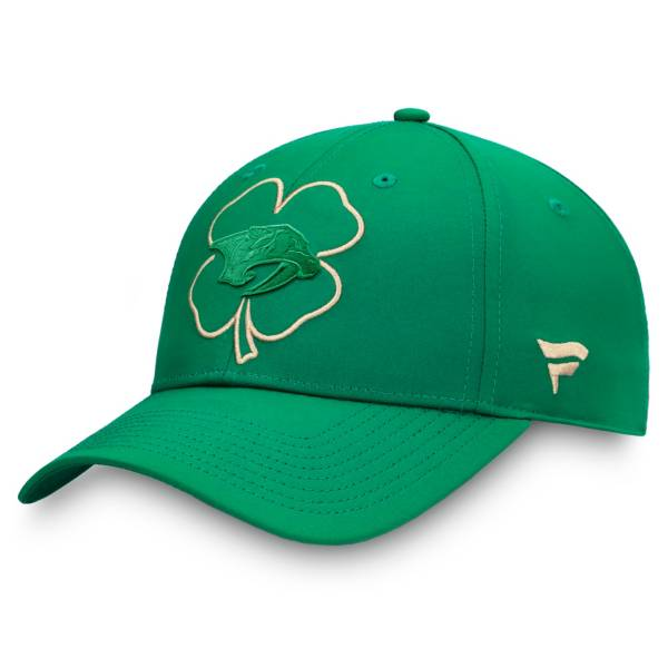 NHL St. Patrick's Day '21 Nashville Predators Adjustable Hat product image