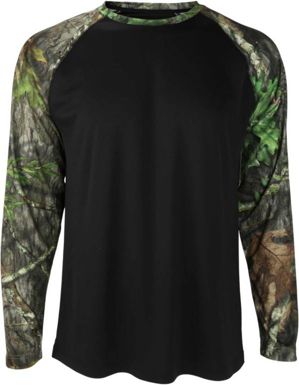 Mossy Oak Men's Obsession Raglan Sleeve Shirt product image