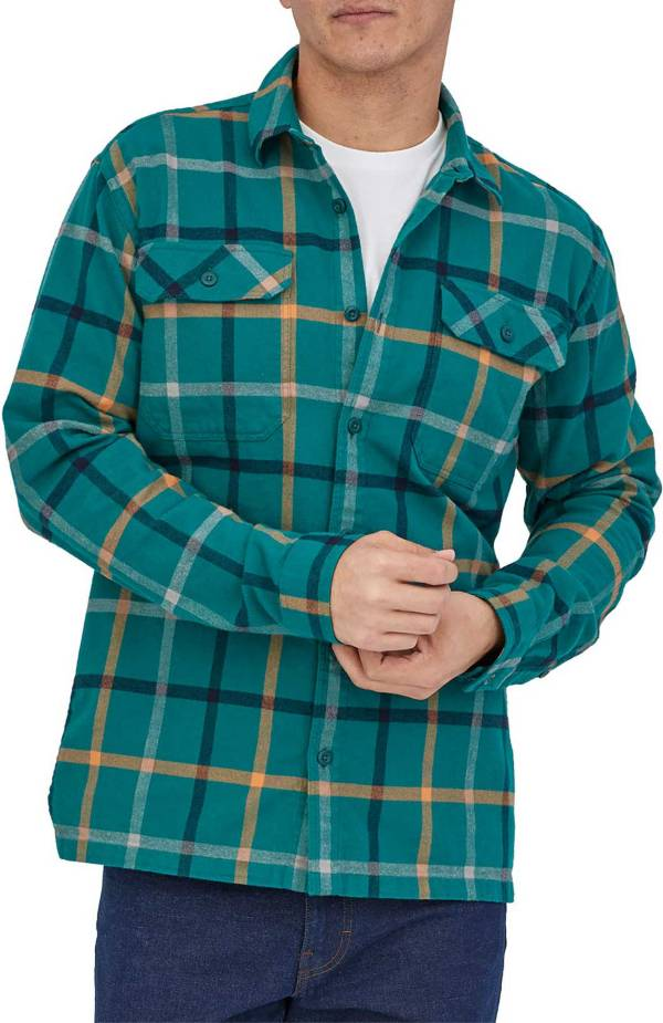 Patagonia Men's Organic Cotton Midweight Fjord Flannel Long Sleeve Shirt product image