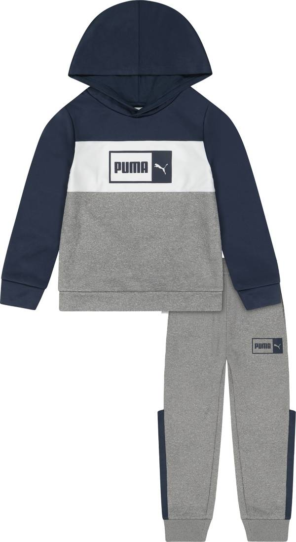 PUMA Boys' Pullover Hoodie and Jogger Set product image