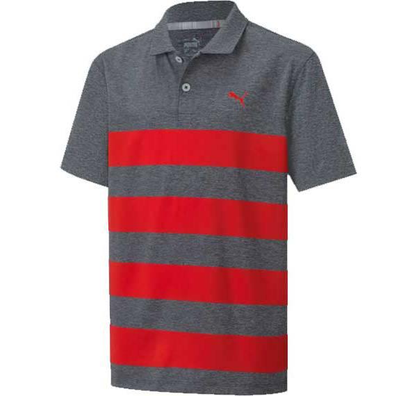 PUMA Boys' Kiwi Stripe Golf Polo product image