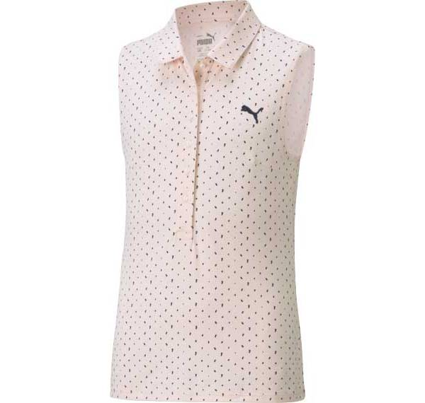 PUMA Girls' Sleeveless Polka Polo product image