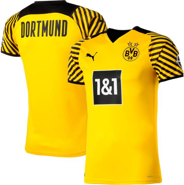 PUMA Men's Borussia Dortmund '21 Home Replica Jersey product image