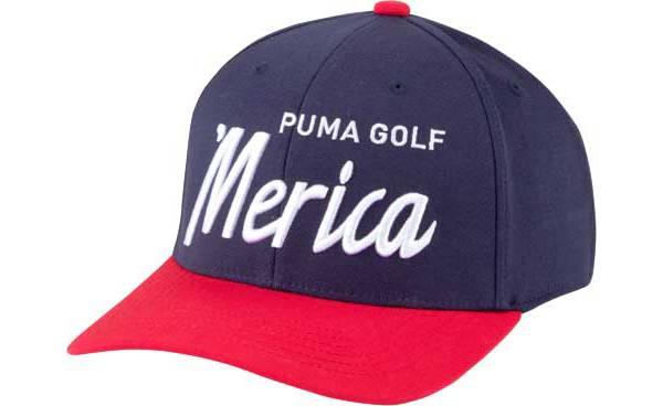 PUMA Men's Merica Script Snapback Golf Hat product image
