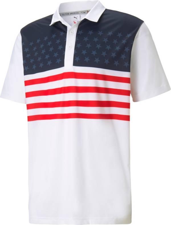 PUMA Men's MATTR Volition Banner Golf Polo product image
