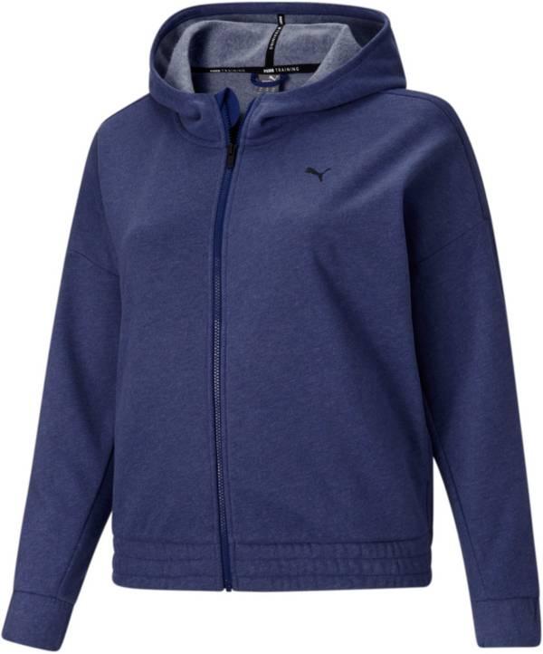PUMA Women's Train Favorite Fleece Full-Zip Hoodie product image
