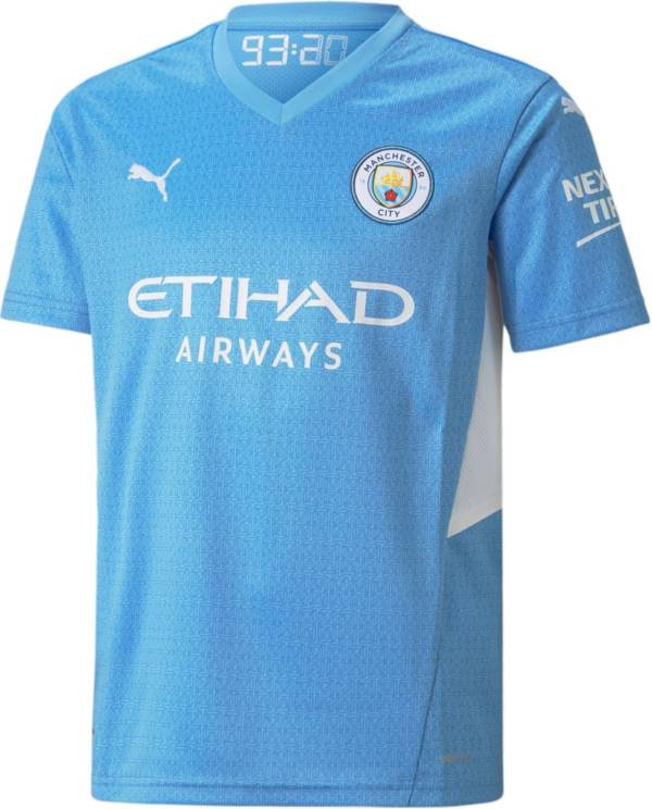 PUMA Youth Manchester City '21 Home Replica Jersey product image