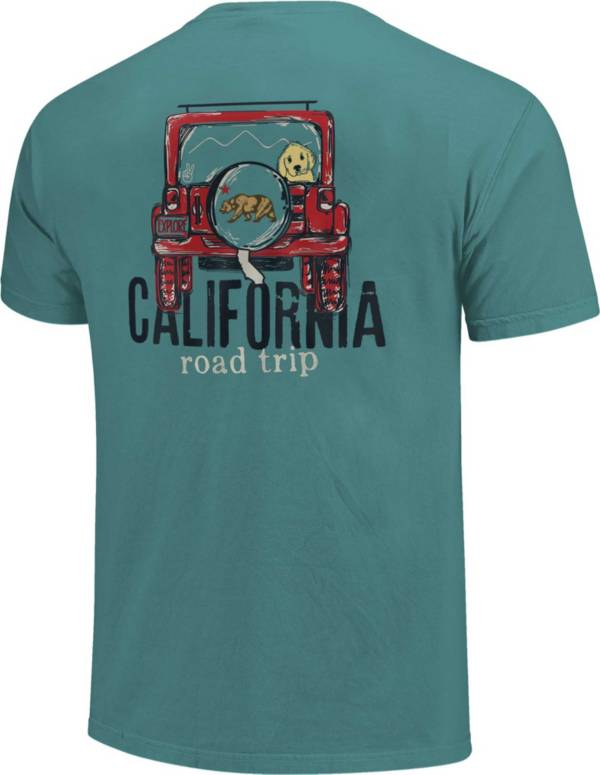 Image One Men's Jeep Road Trip Short Sleeve T-Shirt product image