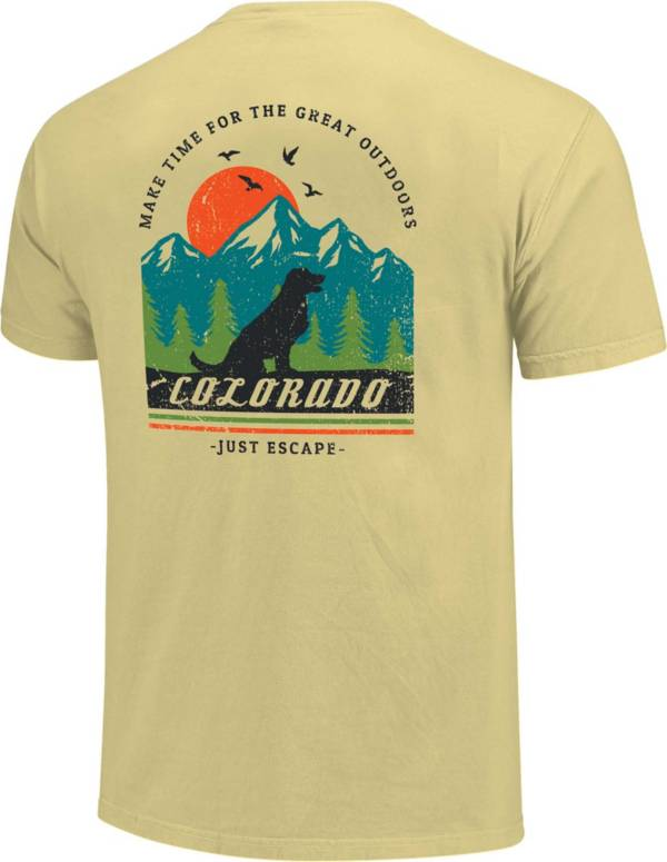 Men's Image One Colorado Dog Mountain Graphic T-Shirt product image