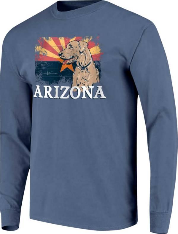 Image One Men's Arizona Dog Long Sleeve Graphic T-Shirt product image