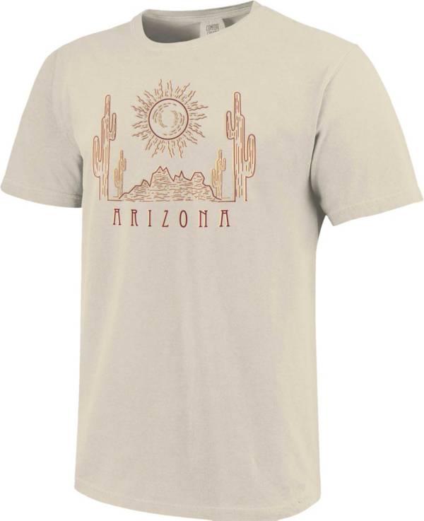 Image One Men's Arizona Desert Sun Short Sleeve Graphic T-Shirt product image