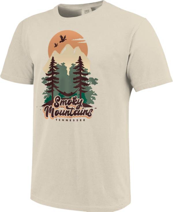 One Image Men's Tennessee Smoky Mountains Forest Short Sleeve T-Shirt product image