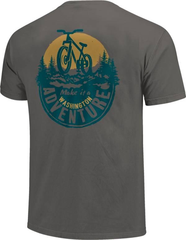One Image Men's Washington Bike Adventure Short Sleeve T-Shirt product image