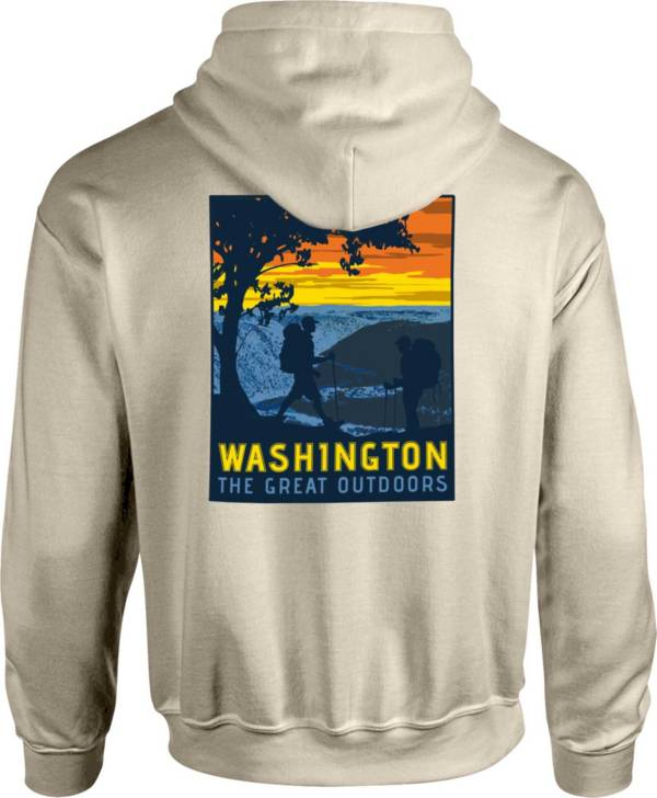 Image One Men's Washington Hike Graphic Hoodie product image