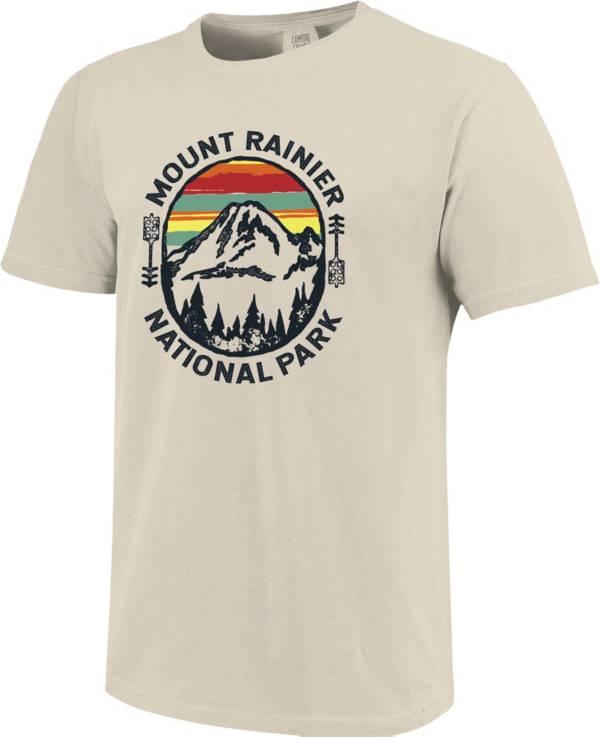 One Image Men's Washington Mount Rainier Short Sleeve T-Shirt product image