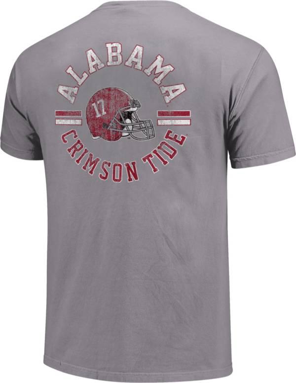 Image One Alabama Crimson Tide Grey Helmet Arch T-Shirt product image