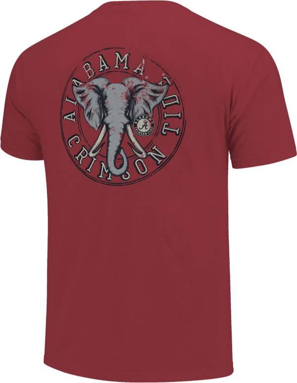 Image One Alabama Crimson Tide Crimson Mascot Medallion T-Shirt product image