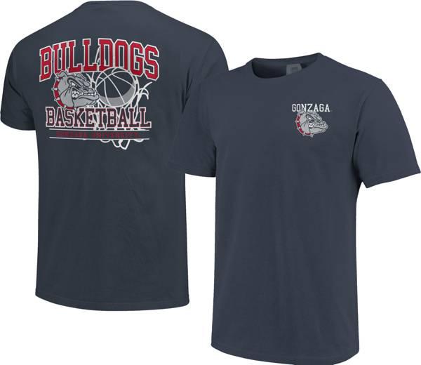 Image One Men's Gonzaga Bulldogs Blue Basketball T-Shirt product image