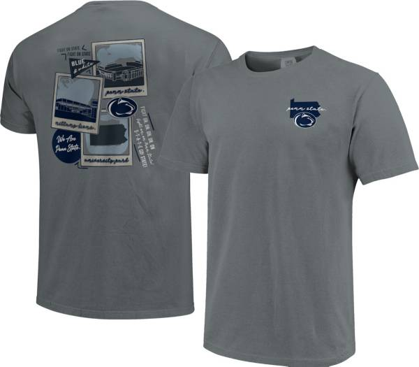 Image One Men's Penn State Nittany Lions Grey Campus Polaroids T-Shirt product image